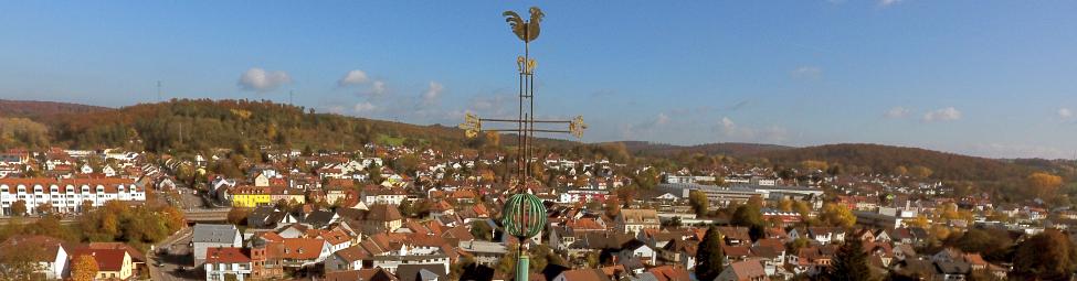 Turmkreuz Martinskirche hell Quelle: Alpers, Fercic